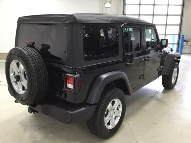 New 2019 Jeep Wrangler Unlimited Sport S Sport Utility In